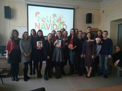 День Испанизации и Испанское Рождество в ИЛиМК